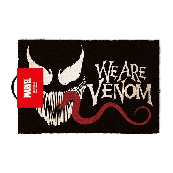 Felpudo We Are Venom Marvel Comics