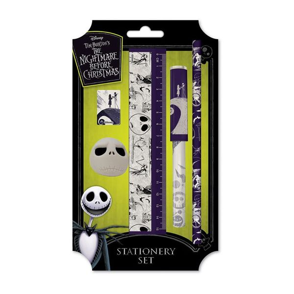 Stationery Set 5 Pieces Nightmare Before Christmas