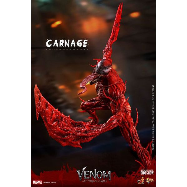 Carnage Deluxe Version Figure Venom Let There Be Carnage Marvel Comics Movie Masterpiece Hot Toys