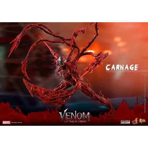 Carnage Figure Venom Let There Be Carnage Marvel Comics Movie Masterpiece Hot Toys