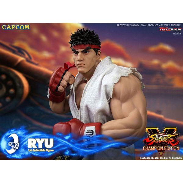 Ryu Figure Street Fighter V Iconiq Studios