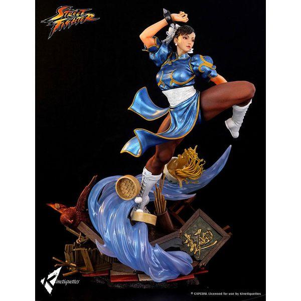 Chun Li The Strongest Woman in The World Statue Street Fighter