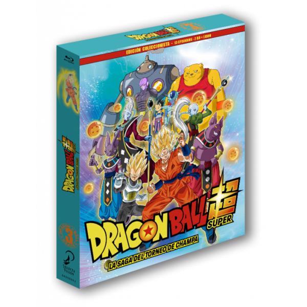Dragon Ball Super - Box 3 Edición coleccionista 2BR + Libro - 13 episodios