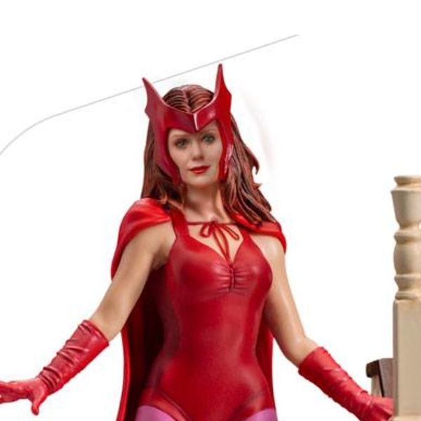 Wanda Halloween Version Statue WandaVision Marvel Comics Art Scale