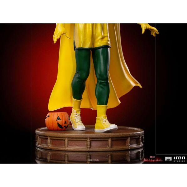Vision Halloween Version Statue WandaVision Marvel Comics Art Scale