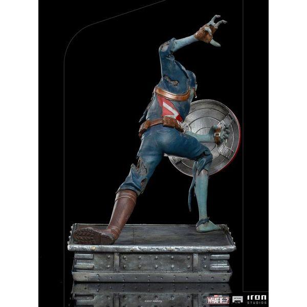 Captain America Zombie Statue What If Marvel Comics Art Scale