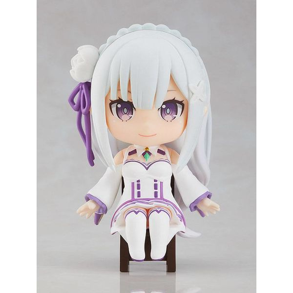 Emilia Nendoroid Re Zero Starting Life in Another World Swacchao
