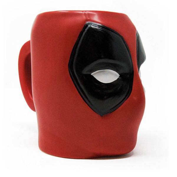 Taza 3D Deadpool Marvel Comics