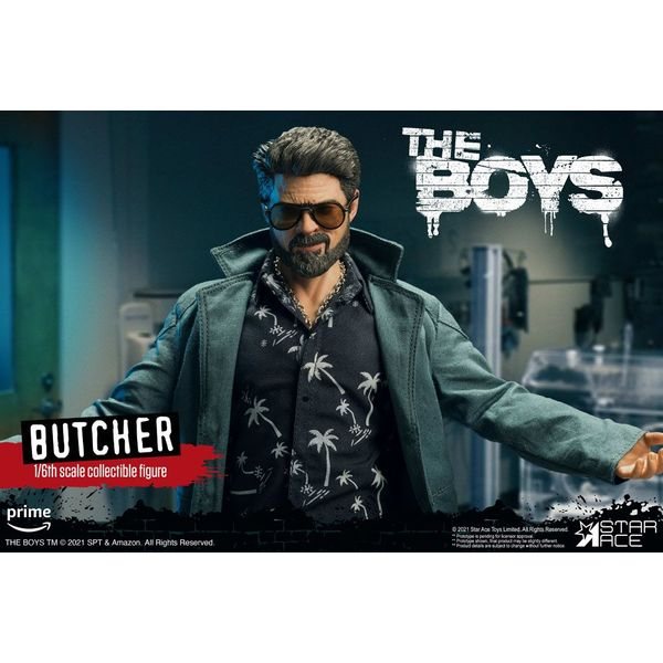 Billy Butcher Normal Version Figure The Boys