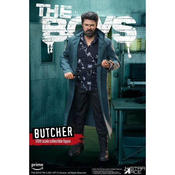 Billy Butcher Deluxe Version Figure The Boys