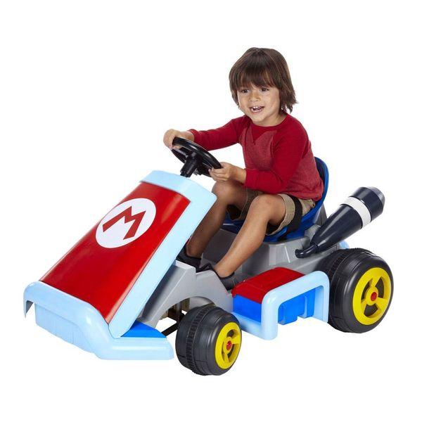 Kart Vehicle 12V Deluxe Mario Kart