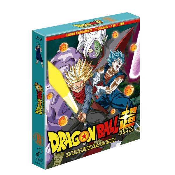 Dragon Ball Super - Box 6 Edición coleccionista 2BR + Libro - 11 episodios Bluray