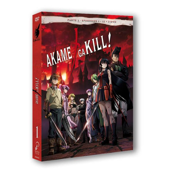 Akame Ga Kill Parte 1 DVD