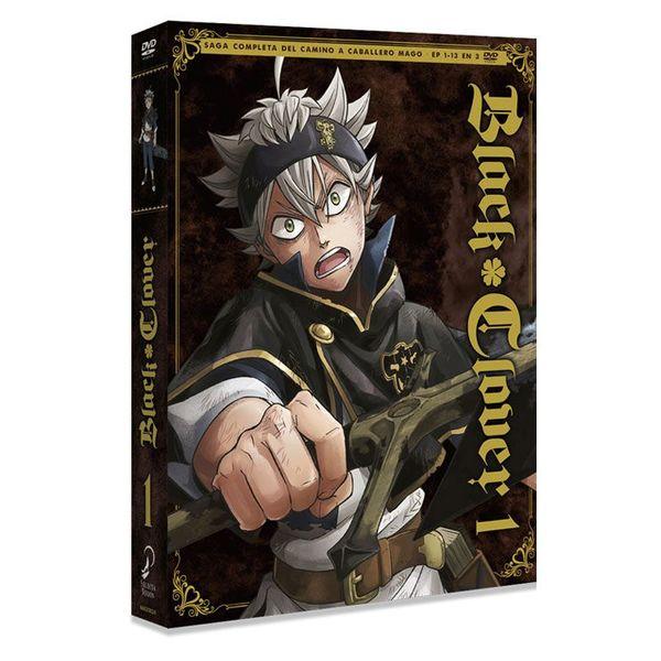 Black Clover Box 1 Saga Completa del Camino a Caballero Mago DVD