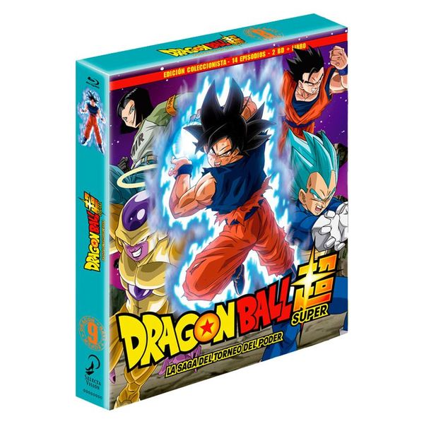 Box 9 Dragon Ball Super Collector's Edition 2BR + Book 14 episodes Bluray