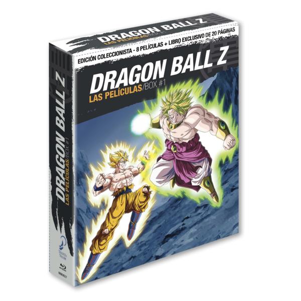 Dragon Ball Z Las Peliculas Box 1 Edición Coleccionista Bluray