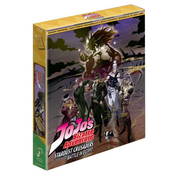 Jojo's Bizarre Adventure Temporada 2 Stardust Crusaders Parte 3 Bluray
