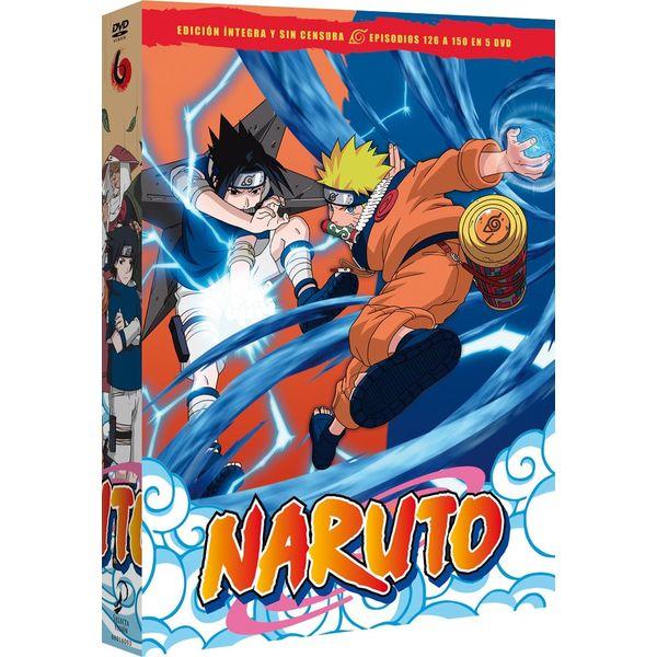 Naruto Box 6 DVD