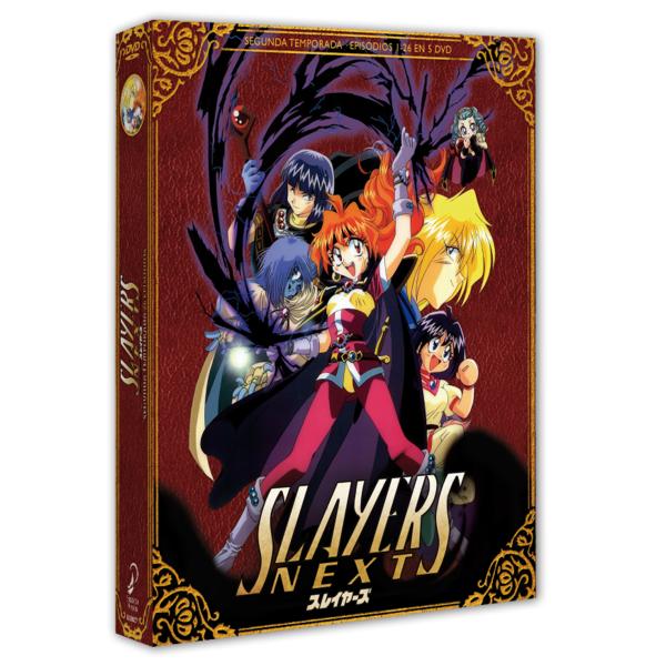 Slayers NEXT Edición Coleccionista DVD