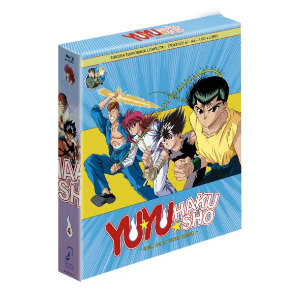 Yu Yu Hakusho Box 4 Bluray