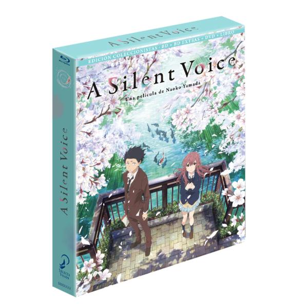 A Silent Voice Bluray Edición Coleccionistas
