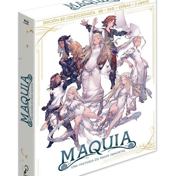 Maquia - Una Historia De Amor Inmortal Bluray Edición Coleccionistas