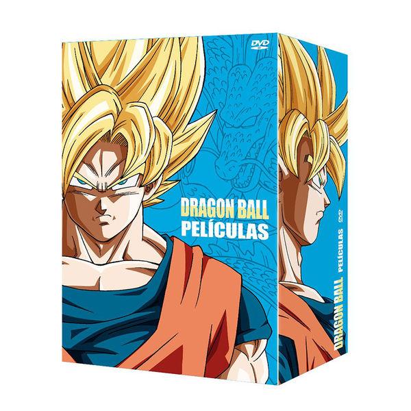 Dragon Ball Las Peliculas Coleccion Completa DVD