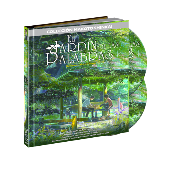 Digibook Bluray The Garden of Words