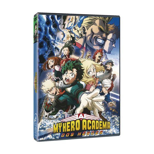 My Hero Academia Dos Heroes DVD