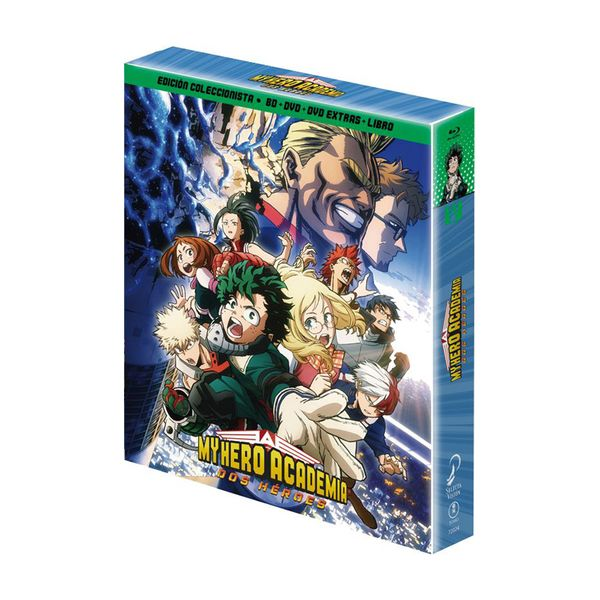 My Hero Academia Two Heroes Collector's Edition Bluray