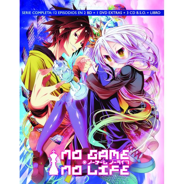 No Game No Life Complete Series Collector's Edition Bluray