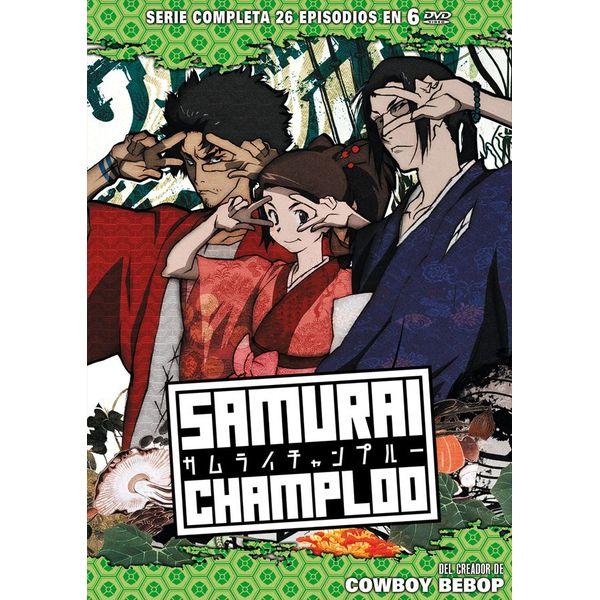 Samurai Champloo Serie Completa DVD