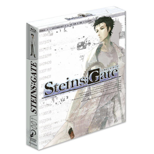 Steins Gate Box 1 Part 1 Bluray Collector's Edition