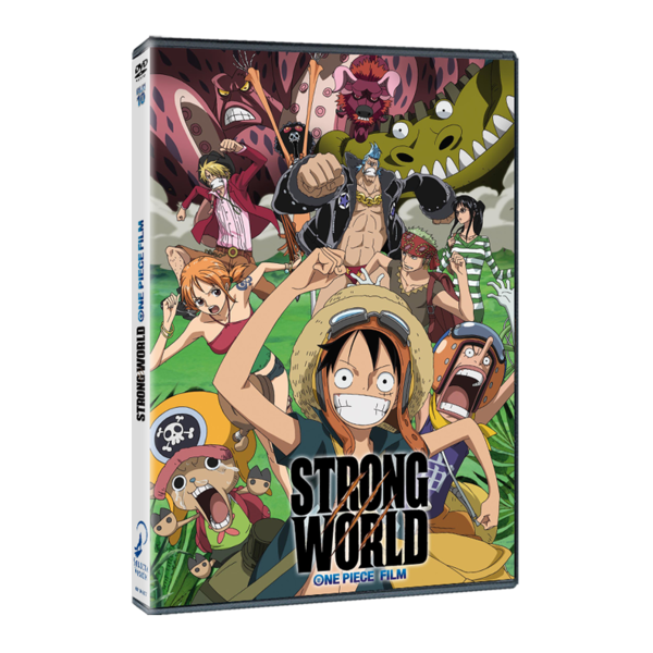 Strong World One Piece DVD