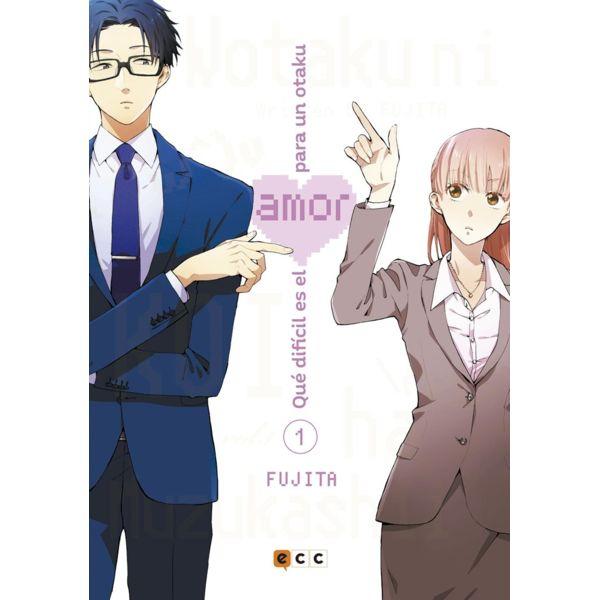 Qué difícil es el amor para un otaku #01 Manga Oficial ECC Ediciones