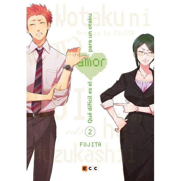 Qué difícil es el amor para un otaku #02 Manga Oficial ECC Ediciones