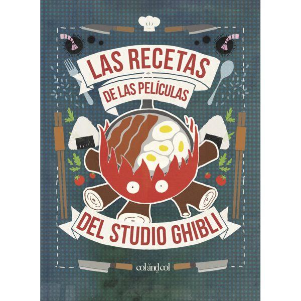 Las Recetas de las Peliculas del Estudio Ghibli Book (Spanish)
