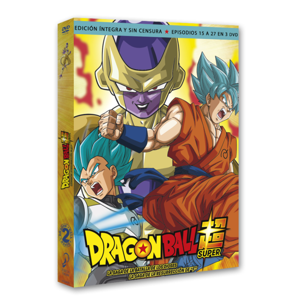 Dragon Ball Super Box 2 DVD