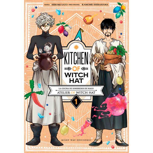 Kitchen of Witch Hat #01 Manga Oficial Milky Way Ediciones (Spanish)