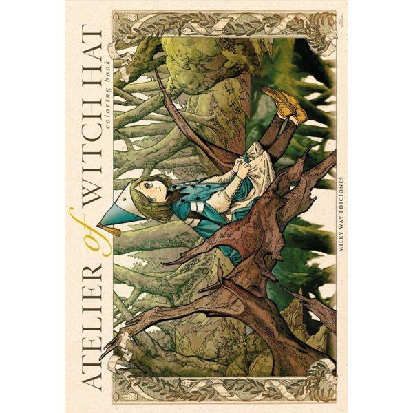 Atelier of Witch Hat Coloring Book Manga Oficial Milky Way Ediciones