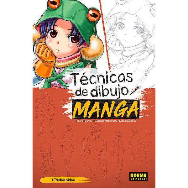 Tecnicas de Dibujo Manga #1 Norma Editorial (Spanish)