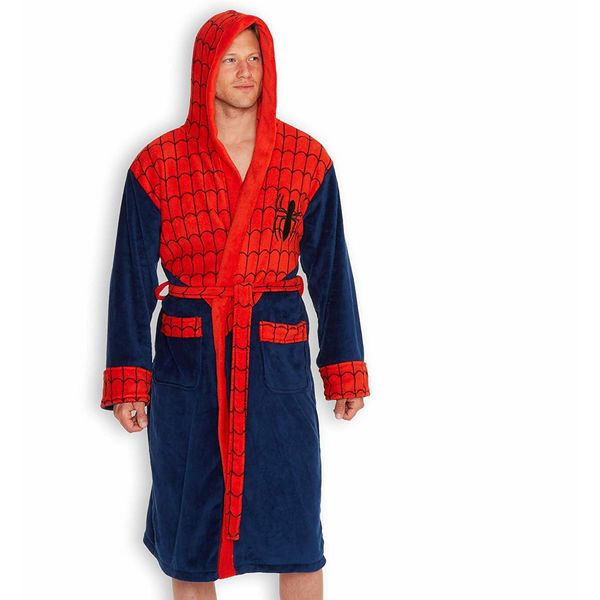 Spider-Man Bathrobe Marvel Comics