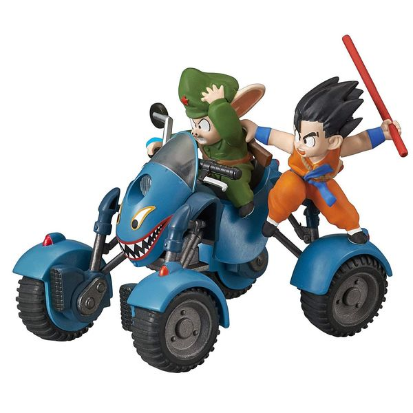 Model Kit Oolong Road Buggy Dragon Ball Mecha Collection Vol. 6