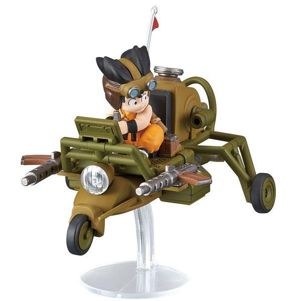 Son Goku Jet Buggy Model Kit Dragon Ball Mecha Collection Vol. 4