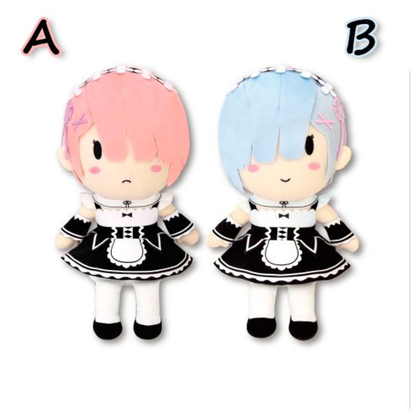 Plush Doll Rem Ram Deforume RE: Zero
