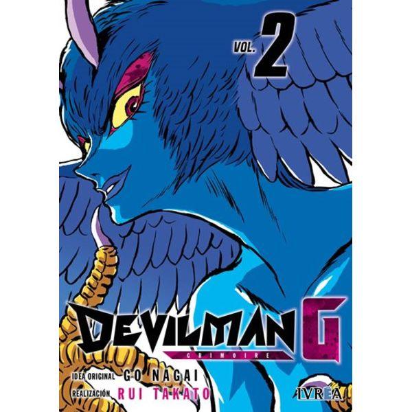 Devilman G #02 Manga Oficial Ivrea