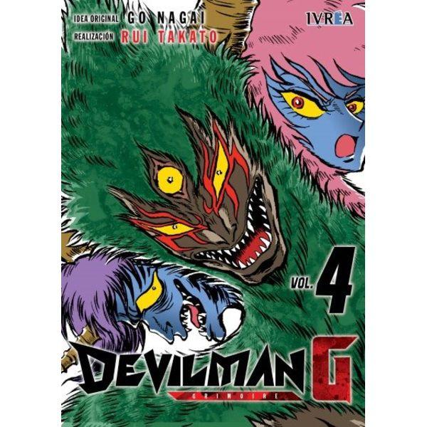 Devilman G #04 Manga Oficial Ivrea