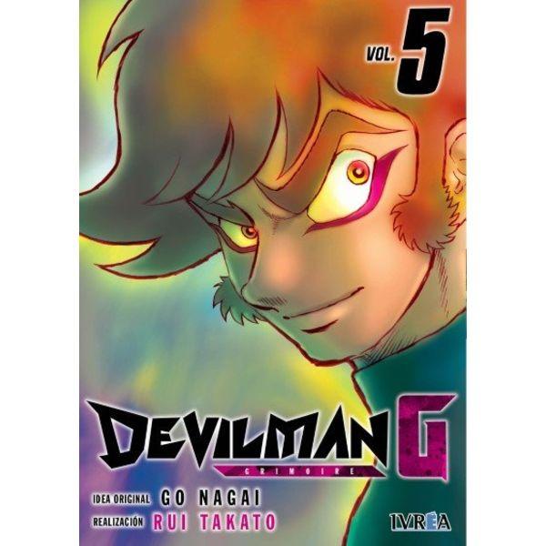 Devilman G #05 Manga Oficial Ivrea