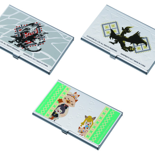 Business card cases monster hunter ramdon kurogami anime manga business card cases monster hunter ramdon reheart Image collections