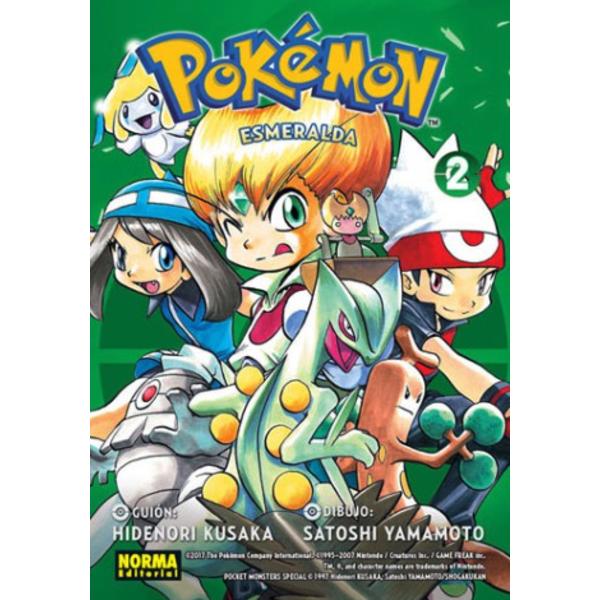 Pokemon Esmeralda #02 (spanish) Manga Oficial Norma Editorial